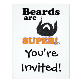 beards are super card