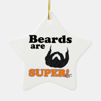 beards are super christmas tree ornaments