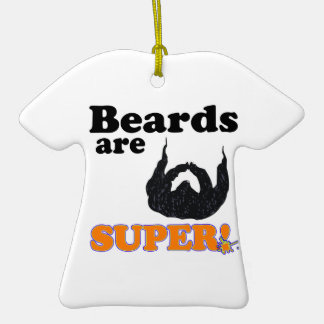 beards are super christmas ornaments