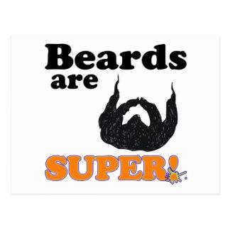 beards are super postcard