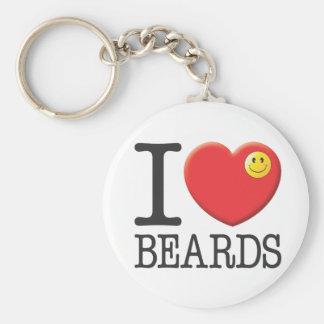 Beards Keychain