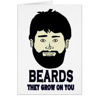 BEARDS - They grow on you Card