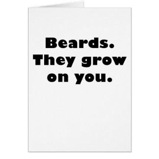 Beards They Grow On You Card