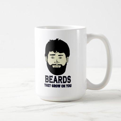 BEARDS - They grow on you Mug