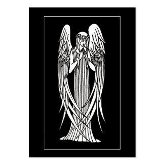 Beardsley Angel Mourning Card ATC