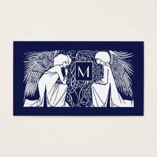 Beardsley Angels Monogram Mommy Calling Card