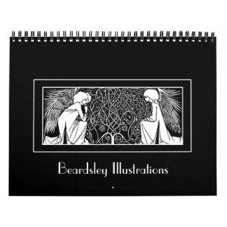Beardsley Art Nouveau Illustrations Calendar