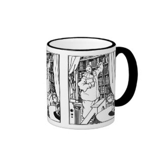 Beardsley Illustration: Pierrot's Library Mug