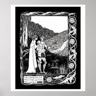 Beardsley Lancelot y el poster de la bruja
