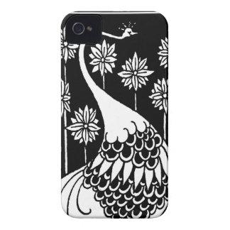 Beardsley Nouveau Peacock Blackberry Bold Casemate iPhone 4 Case-Mate Case