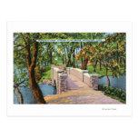 Beardsley Park View of the Stone Bridge Postcards