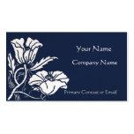 Beardsley Poppies Elegant Business Card