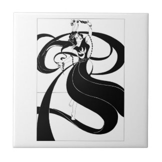 Beardsley Salome's Dance Tile