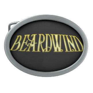 Beardwind Logo Belt Buckle