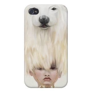 beargirl iPhone 4/4S carcasas