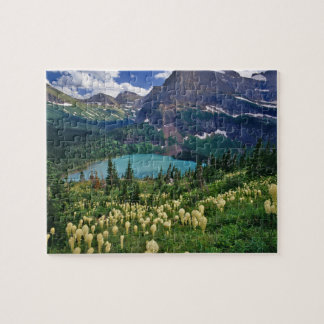 Beargrass above Grinnell Lake in the Many Jigsaw Puzzle