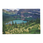 Beargrass above Grinnell Lake in the Many Laminated Place Mat