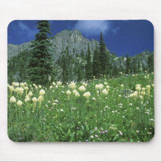 Beargrass at Eunice Lake, Mt. Rainier NP, WA, Mouse Pad