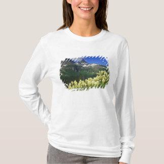 Beargrass at Logan Pass in Glacier National Park T-Shirt