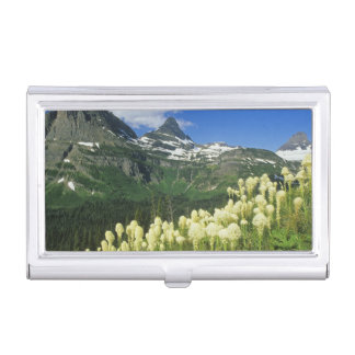 Beargrass near Logan Pass in Gacier National Case For Business Cards