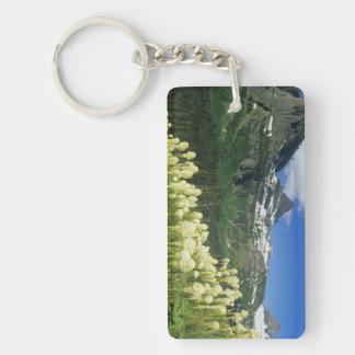 Beargrass near Logan Pass in Gacier National Keychain