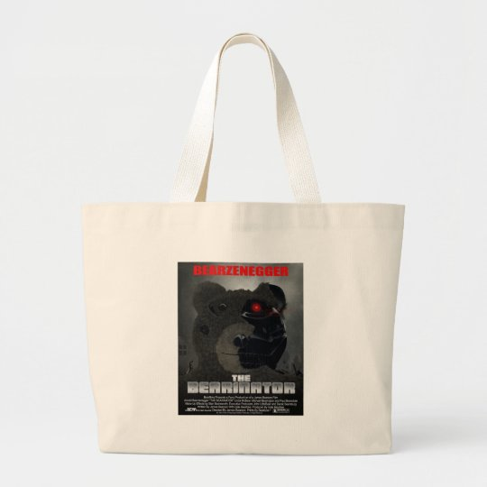 BEARINATOR Movie Poster Style Bag