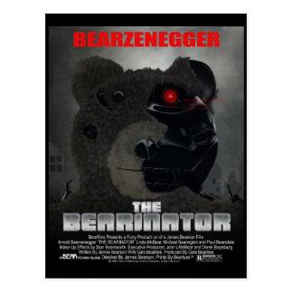 BEARINATOR Movie Poster Style Postcard