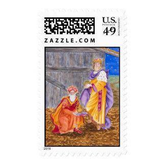 Bearing Gifts Postage Stamp