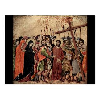 Bearing of the Cross Postcard