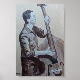 Bearish Original Man Oils Artwork I make an impres Poster