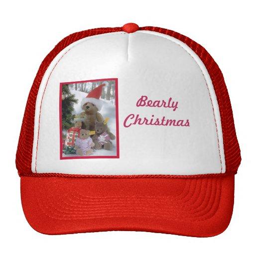 Bearly Christmas Hats