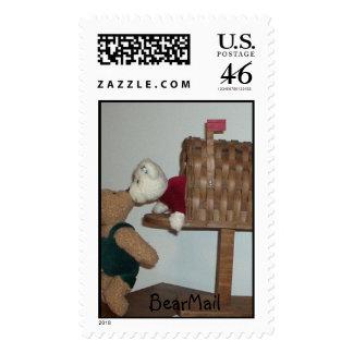 BearMail Postage Stamp