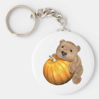 BearPumpkin Keychain