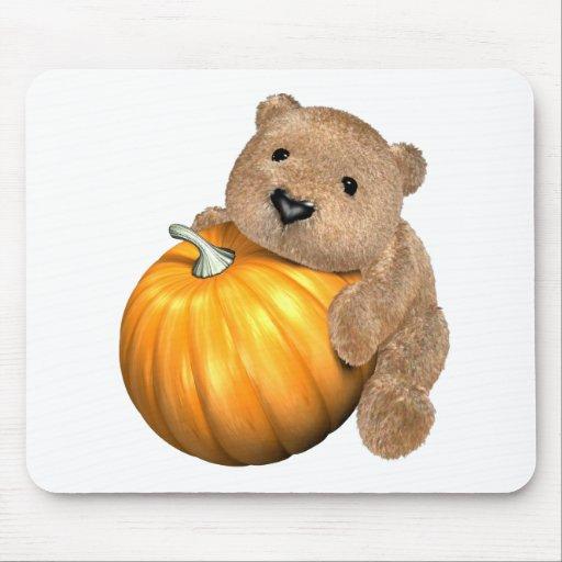 BearPumpkin Mouse Pad