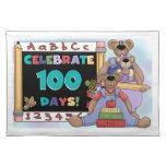 Bears 100 Days of School Place Mats