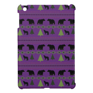 Bears and Wolves iPad Mini Covers
