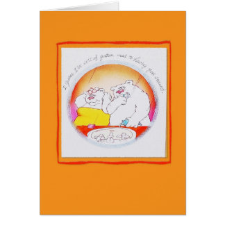 Bears Anniversary Occasions Card