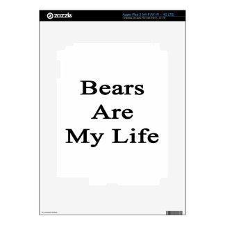 Bears Are My Life iPad 3 Skin