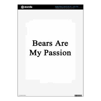 Bears Are My Passion iPad 3 Skins