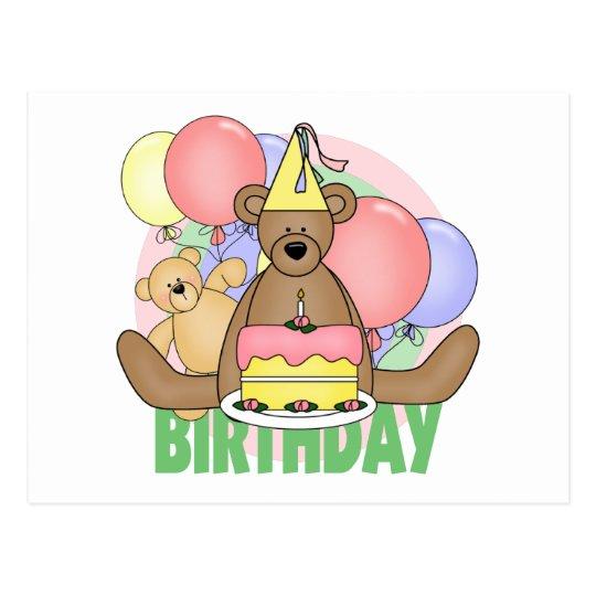 Bears Birthday Postcard