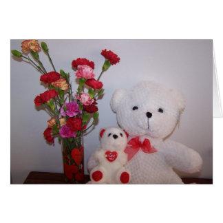 Bears & Bouquet, Valentine's Card