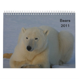 Bears Calendar 2011