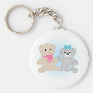 Bears couple keychain