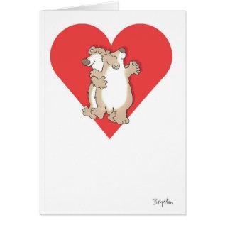 Bears Dancing Valentines By Boynton Card at Zazzle