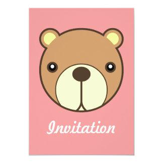 Bear's Dearest Baby Invitation Card