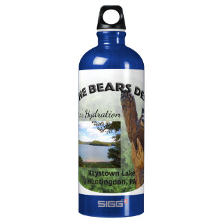 Bears Den Customizable Aluminum Water Bottle