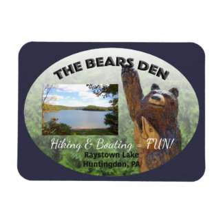 Bears Den Customizable Magnet