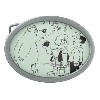 Bears Dinner Belt Buckle