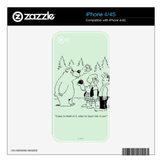 Bears Dinner Decal For The iPhone 4