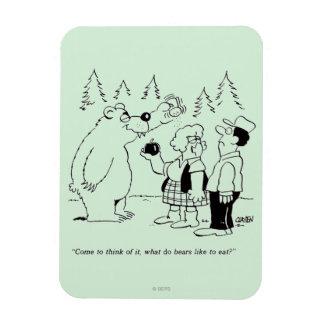 Bears Dinner Flexible Magnet